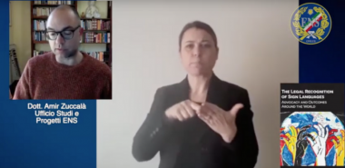 """Commento sul libro """"The Legal Recognition of Sign Languages"""""""
